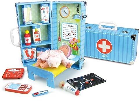 Vilac Vilac6312 30 x 10 x 15 cm Doctor's Set (12-Piece)