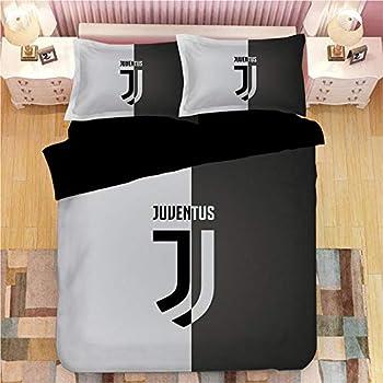Juventus Turin Juventus Club DYBALA Buffon Duvet Cover Bedding Set 100/% Cotton