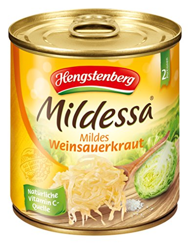 Hengstenberg Mildessa Weinsauerkraut 2 Portionen, 314 ml Dose Test