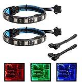 Bande lumineuse à LED RVB - Bande Speclux Led pour boîtier PC Modding, contrôle de...