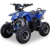 Kinder Quad S-5 Polaris Style 125 cc Motor Miniquad 125 ccm blau Razer