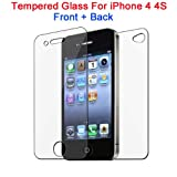 Apple iPhone 4 4S Front and Back Tempere...