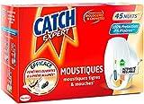 CATCH Diffuseur Electrique liquide réglable Mouches & Moustiques 45 nuits