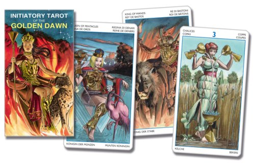 Initiatory Tarot of the Golden Dawn Deck (Lo Scarabeo Decks) (Golden Dawn Tarot-karten)