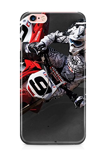 Racing motocross rally sports bike 3D cover case design for iPhone 7 8