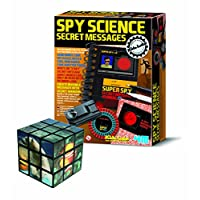 The Good Gift Shop Messages A Smart Way To Learn About Detective Skills - Comes with a Fun Sealife Magic Cube Puzzle