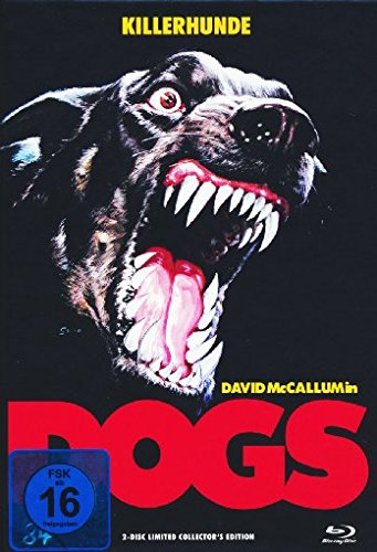 Dogs - Killerhunde - Mediabook  (+ DVD) [Blu-ray] [Limited Collector's Edition] Sterling Server