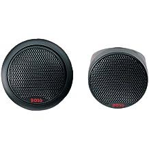 Boss Audio Systems TW25 De 1 vía altavoz audio - Altavoces para coche (De 1 vía, 250 W, 93 dB, Neodimio, Seda, 2000 - 20000 Hz)
