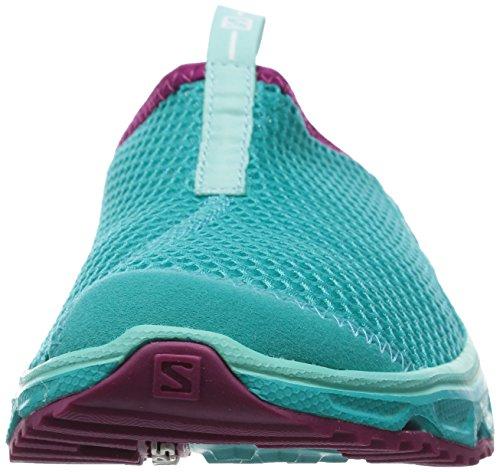 SalomonRx Slide 3.0 - Pantofole a punta chiusa Donna Turchese (Teal Blue/Teal Blue/Mystic Purple)
