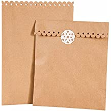 Talking Tables The Wrapping Room Kraft party Treat Bags, carta, beige - Mini Gift Bag