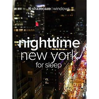 Nighttime New York for sleep