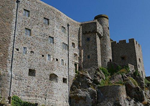 hansepuzzle 20604 Gebäude - Burg auf Jersey, 260 Teile in hochwertiger Kartonbox, Puzzle-Teile in wiederverschliessbarem Beutel