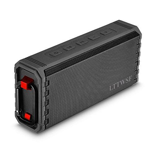 Bluetooth Lautsprecher, LTTWSF IPX7 Wasserdicht Outdoor Lautsprecher Wireless Tragbarer Lautsprecher mit Hi-Fi Bass für 24 Stunden Spielzeit
