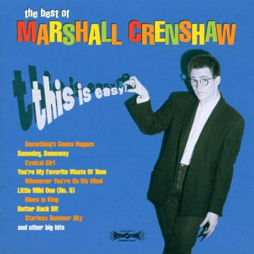 Marshall Crenshaw-cd (This Is Easy-the Best of)