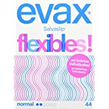 EVAX -  Salvaslip flexibles en bolsitas individuales, caja de 44 unidades