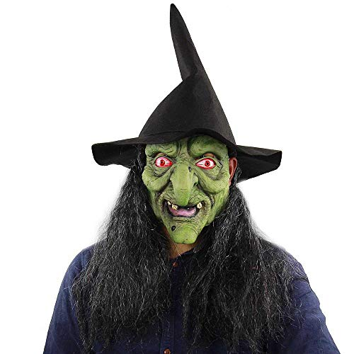 Wbdd Maske Beängstigend Böse Clown Maske, Doppelte Gesicht Latex Gummi Maske Halloween Kostüm Maske (Blut) Clown Mit Haaren Für Erwachsene Masken Hexe