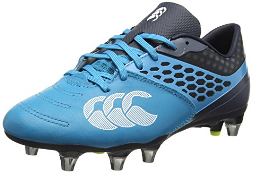 Canterbury Herren Phoenix 2.0 Elite Soft Ground Rugbyschuhe, Türkis (Carribean Sea), 40 EU (Rugby-boot-schuhe)