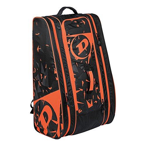 Dunlop Herren Tasche (Dunlop Schlägertasche Revolution NT 12-Racket Bag, orange, 80 x 38 x 35 cm, 106 Liter, 817218)