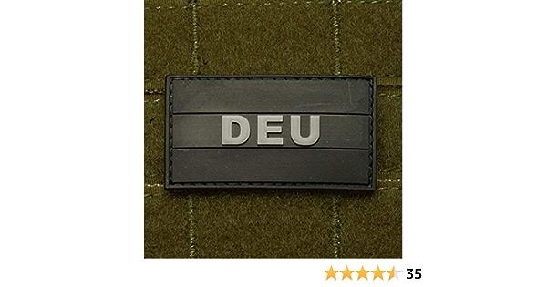 Copytec 3d Rubber Patch Ksk Deutschlandflagge Isaf Deu Tarn Airsoft Pvc 3x5 5cm 14380 Küche Haushalt