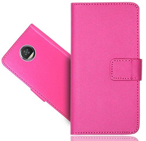 Preisvergleich Produktbild Motorola Moto Z2 Play Handy Tasche, FoneExpert® Wallet Case Cover Premium Hüllen Etui Hülle Ledertasche Lederhülle Schutzhülle Für Motorola Moto Z2 Play