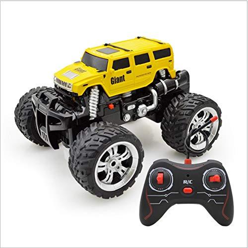 Kikioo Bigfoot 2,4 GHz Fernbedienung Geländewagen - Allrad RC Auto Anfänger SUV Jeep RCCAR 360 ° Rotation Stunt Drift Geschwindigkeit Buggy All Terrain Monster Truck 3 Jahre alt Kindergeburtstag Gesch