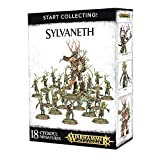 Games Workshop 99120204019 - Start Collecting Sylvaneth - Warhammer Age of Sigmar - 18 Figuras (una Branchwych, un Treelord, una caja de dieciséis Dryads)