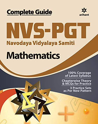 NVS-PGT Mathematics Guide 2019