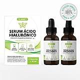 Tillmann's Acido Hialuronico 2 frascos x 30 mililitros – Ácido Hialuronico – Serum Acido Hialuronico Con Vitamina C | Vitamina E | Aceite De Jojoba – Natural Y Vegano