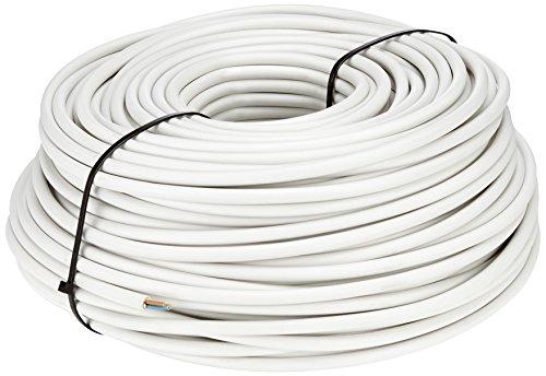 Preisvergleich Produktbild as - Schwabe NYM-J Kabel 3 x 1,5 mm², 100m Mantel-Leitung Installationskabel, grau, 55825