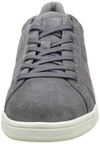 Geox U Warrens B, Sneakers Basses homme Gris (Anthracitec9004)