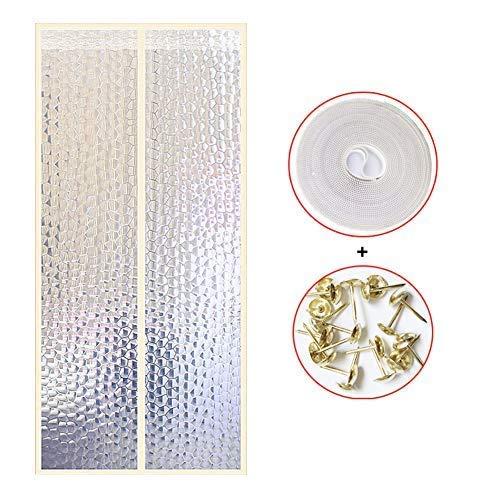 WEIFAN CAI-Windproof Eva Magnetic Screen Tür, selbstdichtende Magnetic Mesh Bug Screen Tür, Anti-Insekten-Bug Off Pet und Kid Friendly-c -