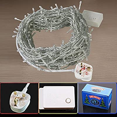 Battery Operated Fairy Lights with 20 LEDs by Lights4fun - inexpensive UK light store.