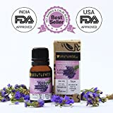 Soulflower Lavender Essential Oil for Hair and Skin, 15ml