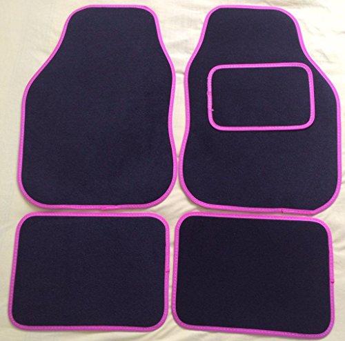 hyundai-sante-fe-06-12-universal-4-piece-carpet-car-floor-mats-set-black-pink-trim