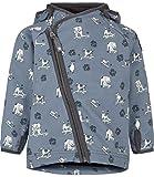 Racoon Baby-Jungen Jacke Finn Softshelljacke Wassersäule 5.000 Mehrfarbig (Flint Stone FLI) 86