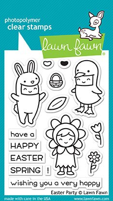 Lawn Fawn, Clear Stamp, Easter Party