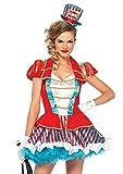 Leg Avenue 85611 - Ravishing Ring Master Damen kostüm, Größe S (Mehrfarbig)