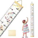 Children Growth Chart,SEELOK Unicorn Kids Height Ruler Removable Wall Hanging Measurement for Nursery Bedroom Decoration Kindergarten