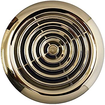 Circular Stainless Steel Air Vent Grille Cover 100mm 4 Ventilation Grill Cover