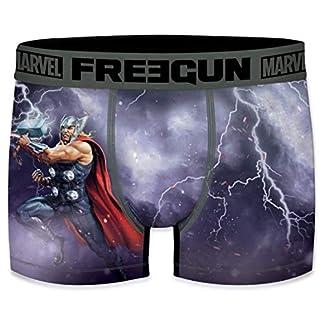 FREEGUN Bóxer para Hombre Marvel Avengers Thor 🔨