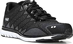 RYKA Womens Celeste Walking-Shoes, Black/Grey, 9 W US