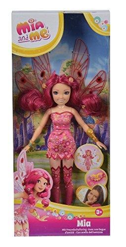 Barbie Kostüm Flügel - Simba 109480089 - Mia and Me neue Puppe Mia mit Glasaugen