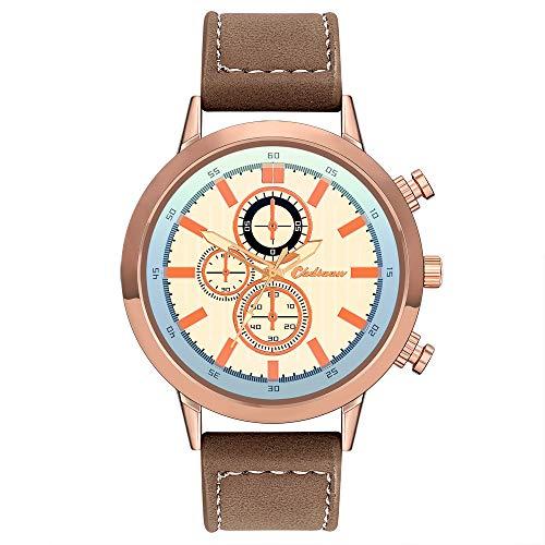 Waselia Uhren GüNstig Kaufen Online Chopard Uhr Armbanduhr/Uhr Bestellen/Armbanduhr/Uhr Online/Uhr Rosegold Grau/Uhr Online Kaufen/Armbanduhr Aus Quarz-Armbanduhr Im Retro-Design-Lederarmband