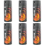 New Design Axe Moschus Deospray 6 x 150ml = 900ml