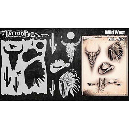 Tattoo Pro Schablonen Serie 4–Wild - Sicher Auf Halloween
