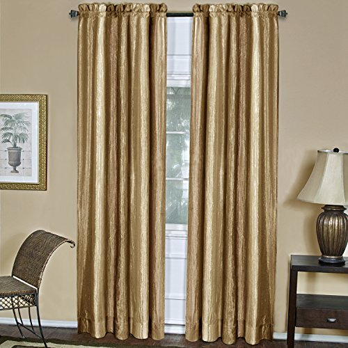 Achim Home Furnishings Ombre Fenster Panel, Sandstein, 50-Inch by 63-Inch -