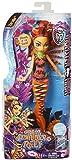 Mattel Monster High DHH36 - Modepuppen, Das Große Schreckensriff, Leuchtende Monsterfische Toralei