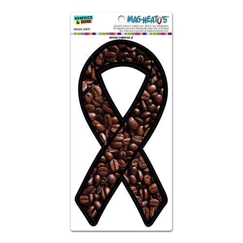 Preisvergleich Produktbild Kaffee Bohnen Bewusstsein Band–Halloween Mag-Neato 's-TM) Automotive Auto Motorhaube Kofferraum Kühlschrank Locker Vinyl Magnet
