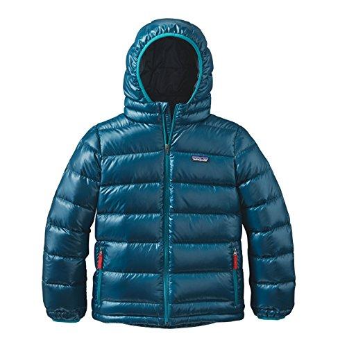 Patagonia Boys Hi-loft Down Sweater hoody - Blu, M