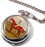 Cavallo da corsa di aringa Full Hunter orologio da tasca